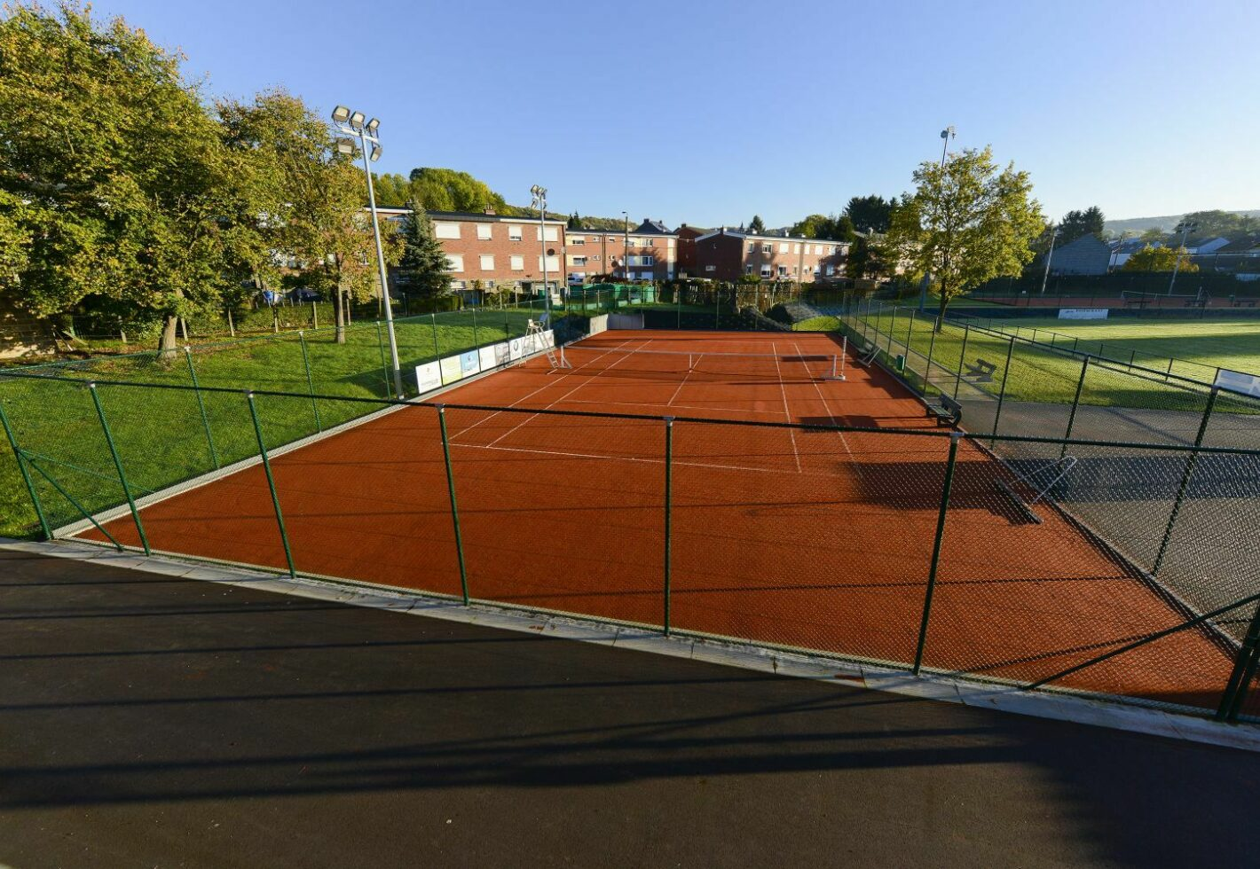 Tennis batitec construction renovation ser2887